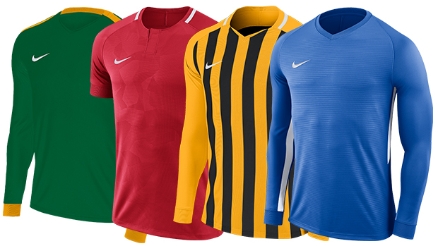 ceeb4c53 The most stand out new addition is the Nike Tiempo jersey, pictured on the  far right, coming in at an affordable price point just above the current  entry ...