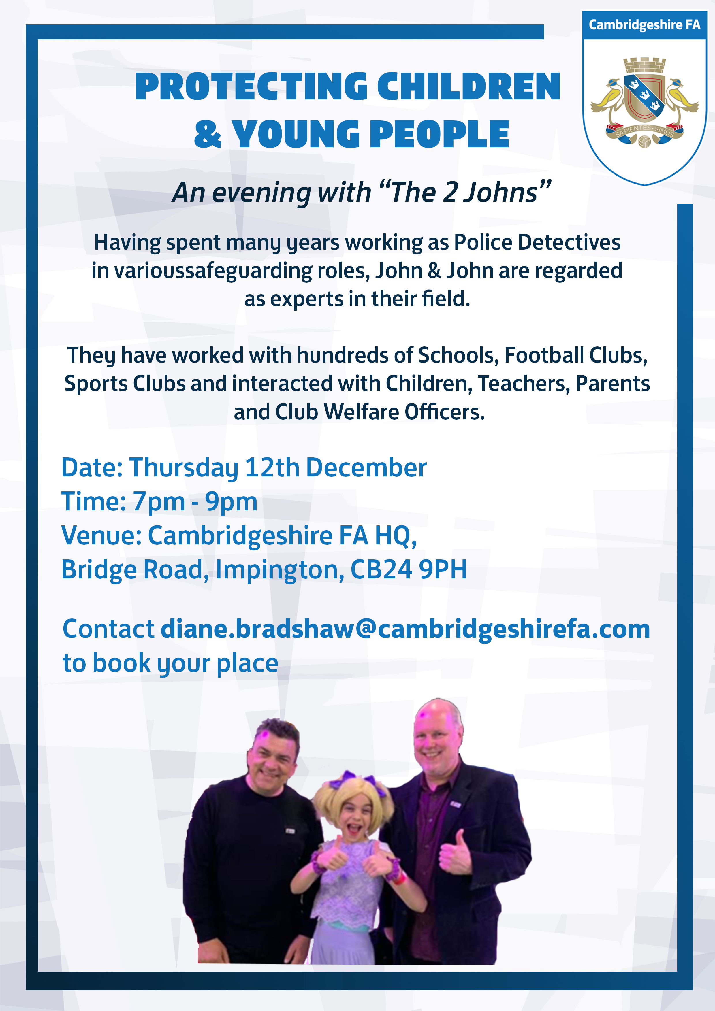 An evening with the 2 johns