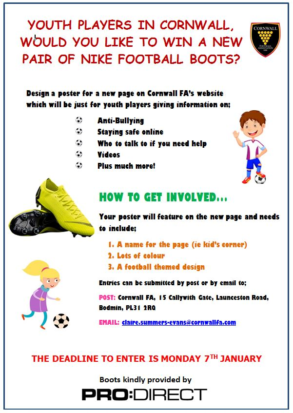 CCFA Safeguarding Poster Competition