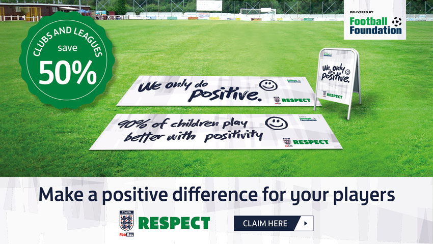 FA Respect Scheme - Equipment Launch