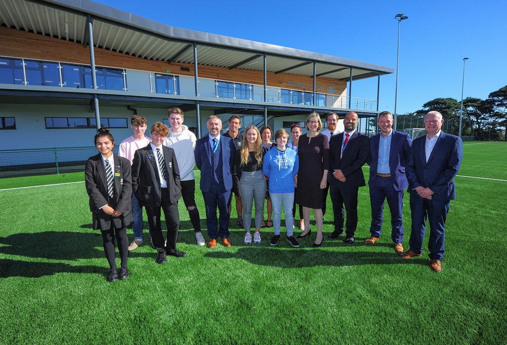 Falmouth School new 3G Pitch opened
