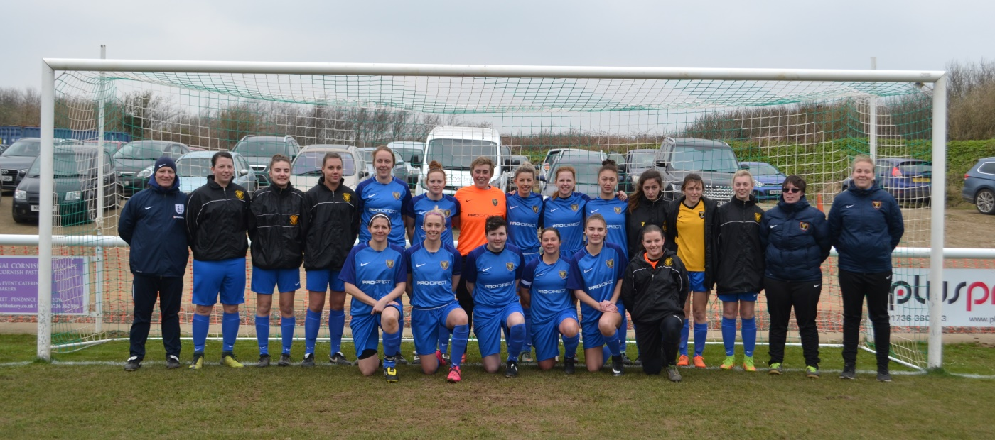 Cornwall Womens Rep Squad vs Leeds United Ladies