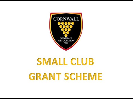 Cornwall Small Club Grant Scheme
