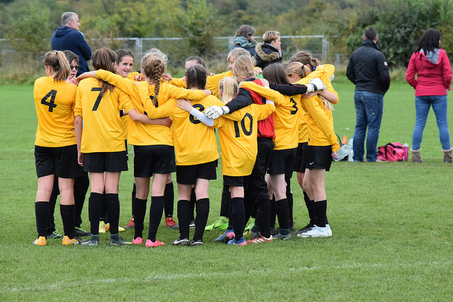 U14's Group Talk Pre-Match