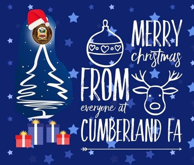 Christmas Greetings from Cumberland FA