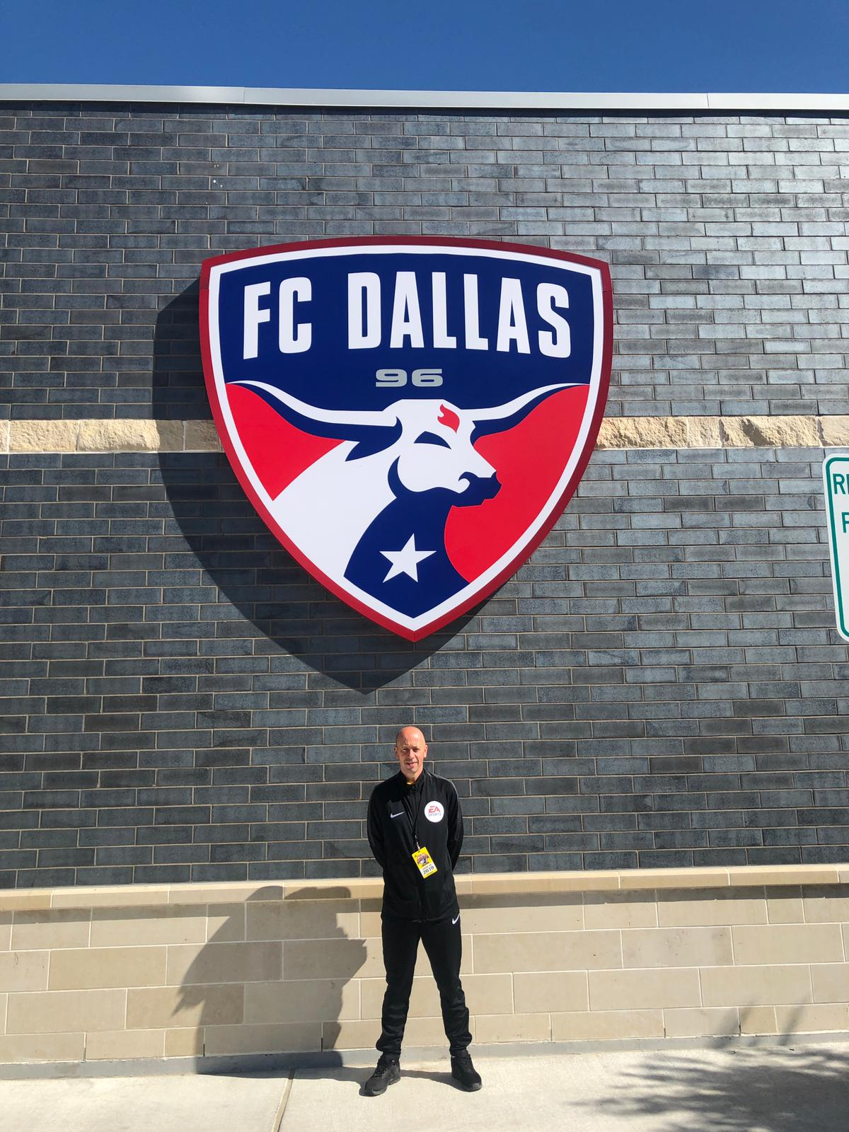 Andy Wood at the 2019 Dallas Cup