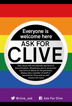 Ask for Clive
