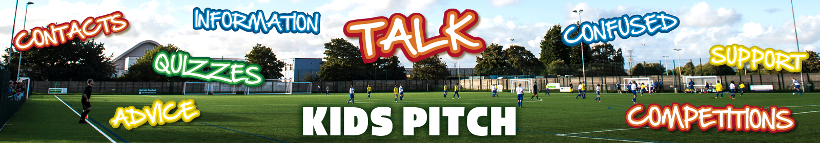 Kids Pitch Banner New