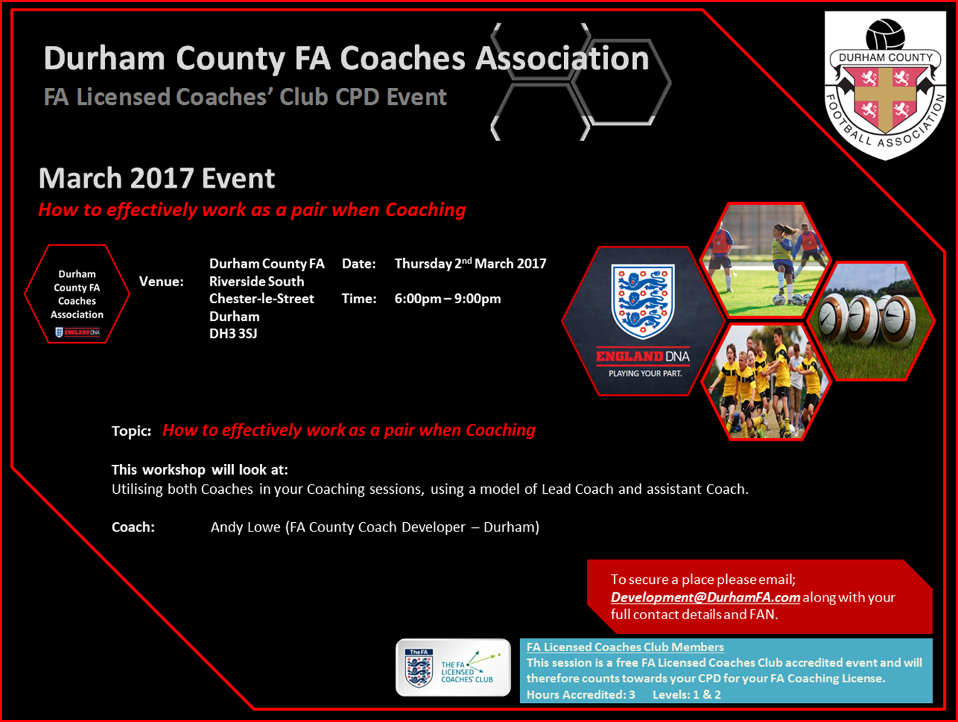 Durham County FA Coaches Association