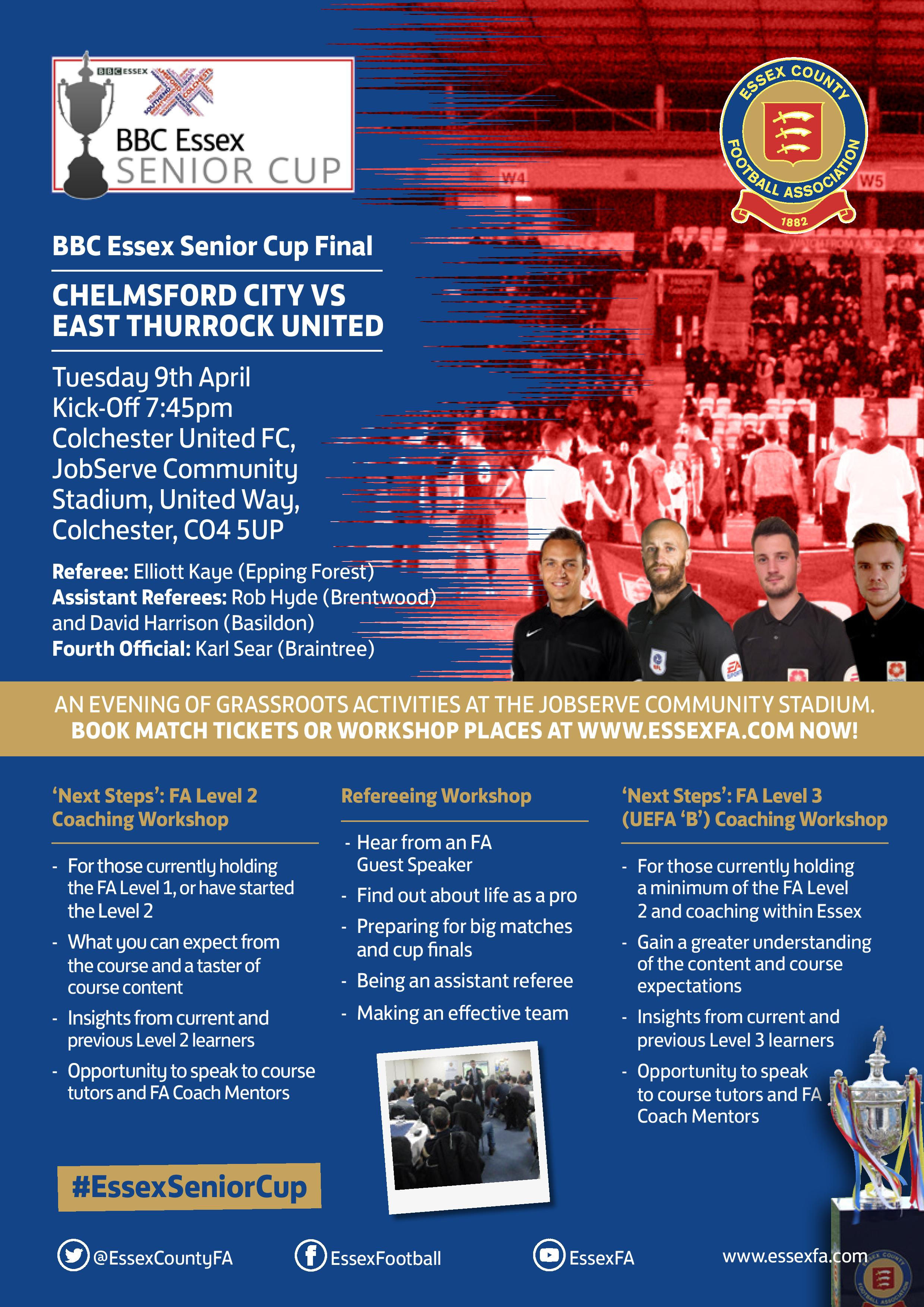 Senior Cup Final Tickets