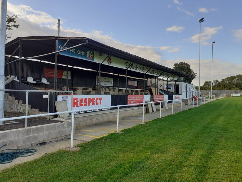 Stonehouse town new stand