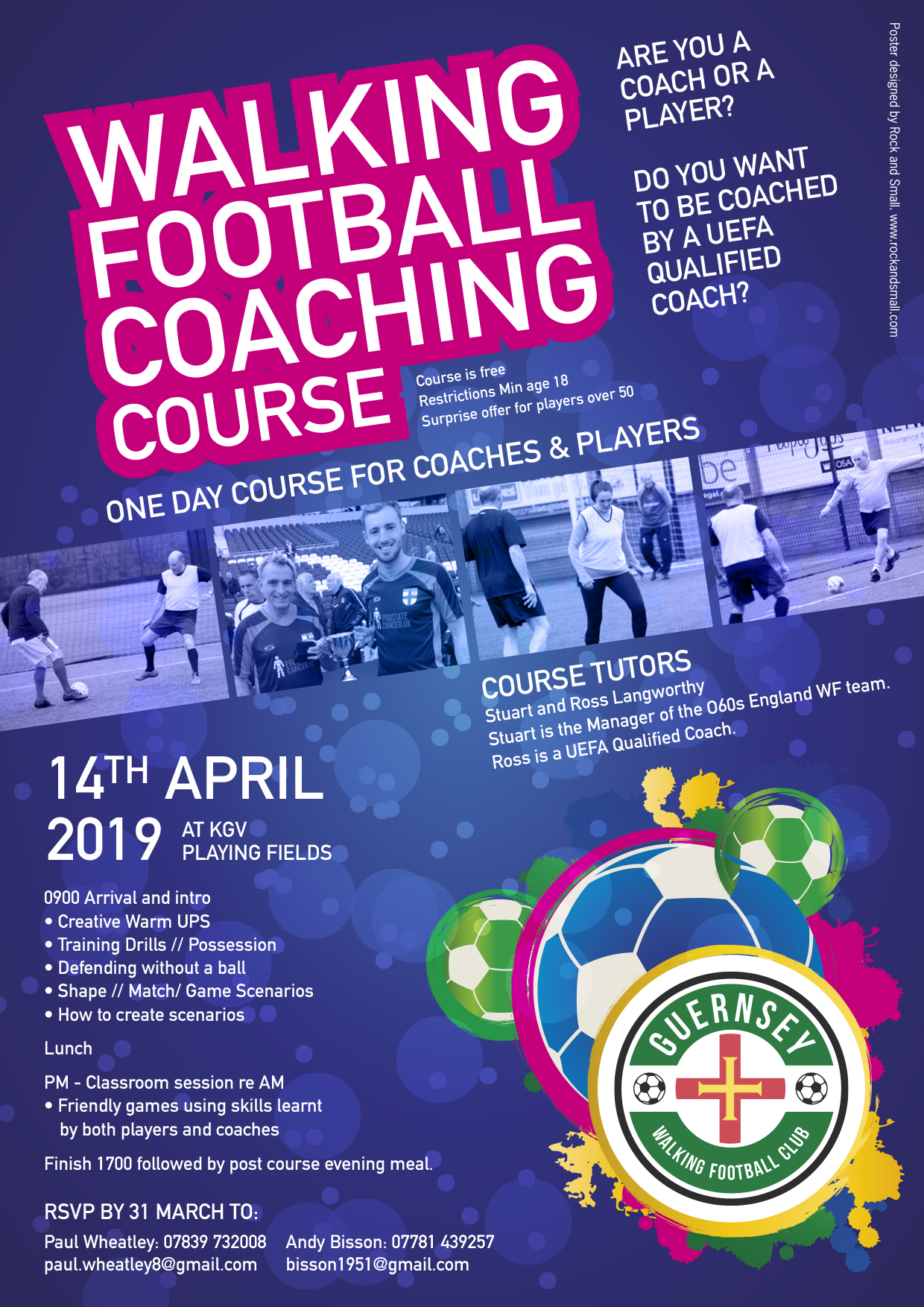 COACHING COURSE POSTER