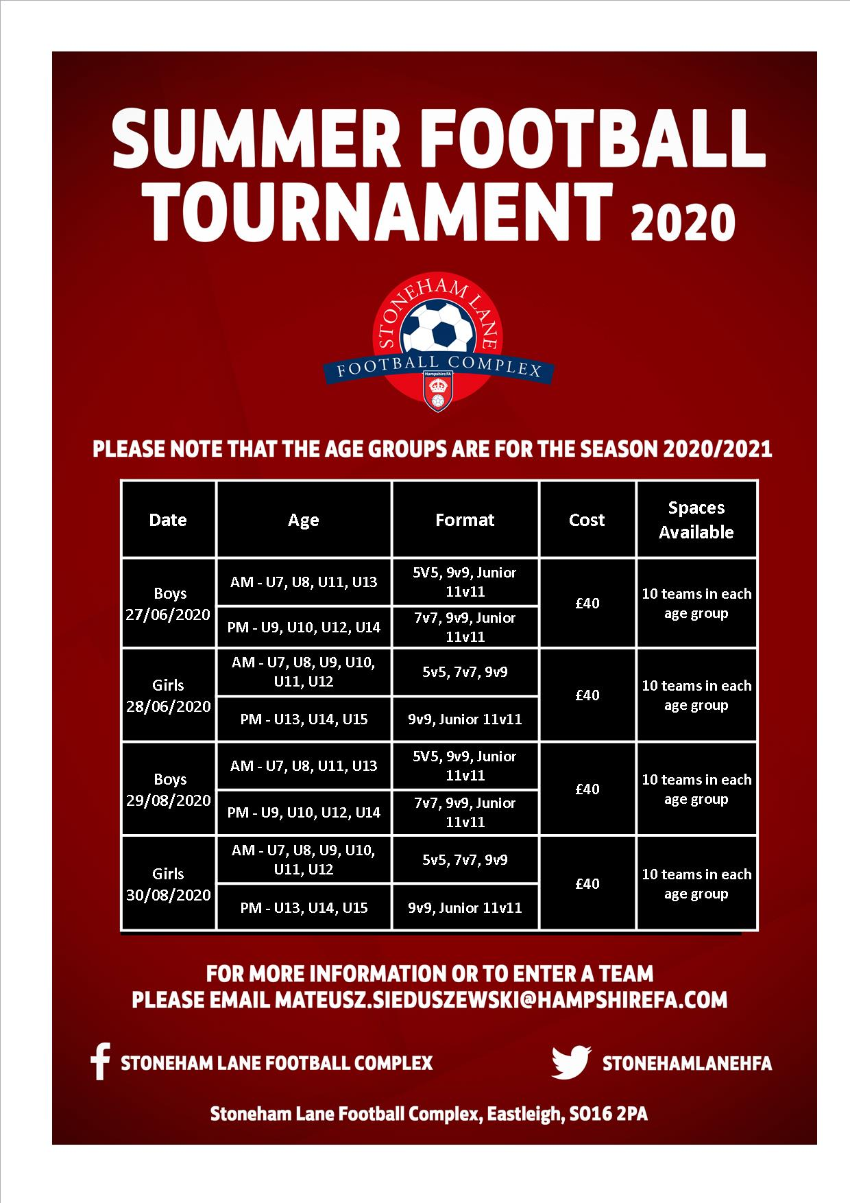 New Tournament