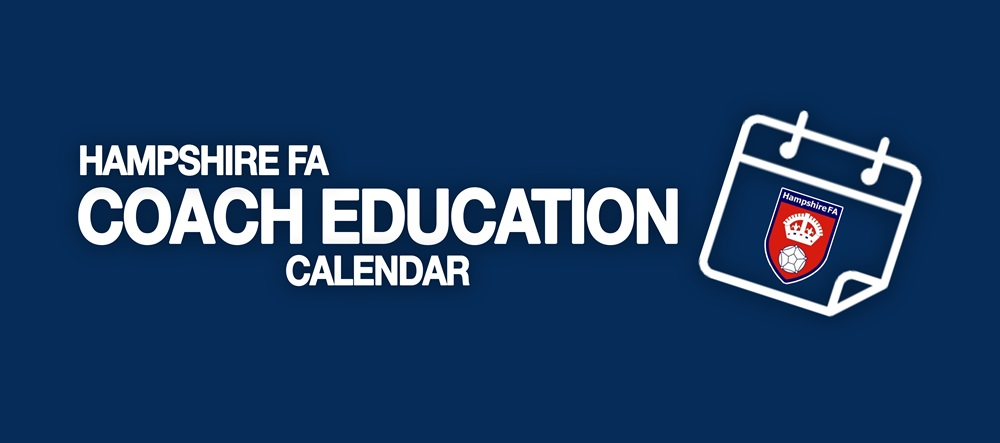 Coach Education Calendar Banner