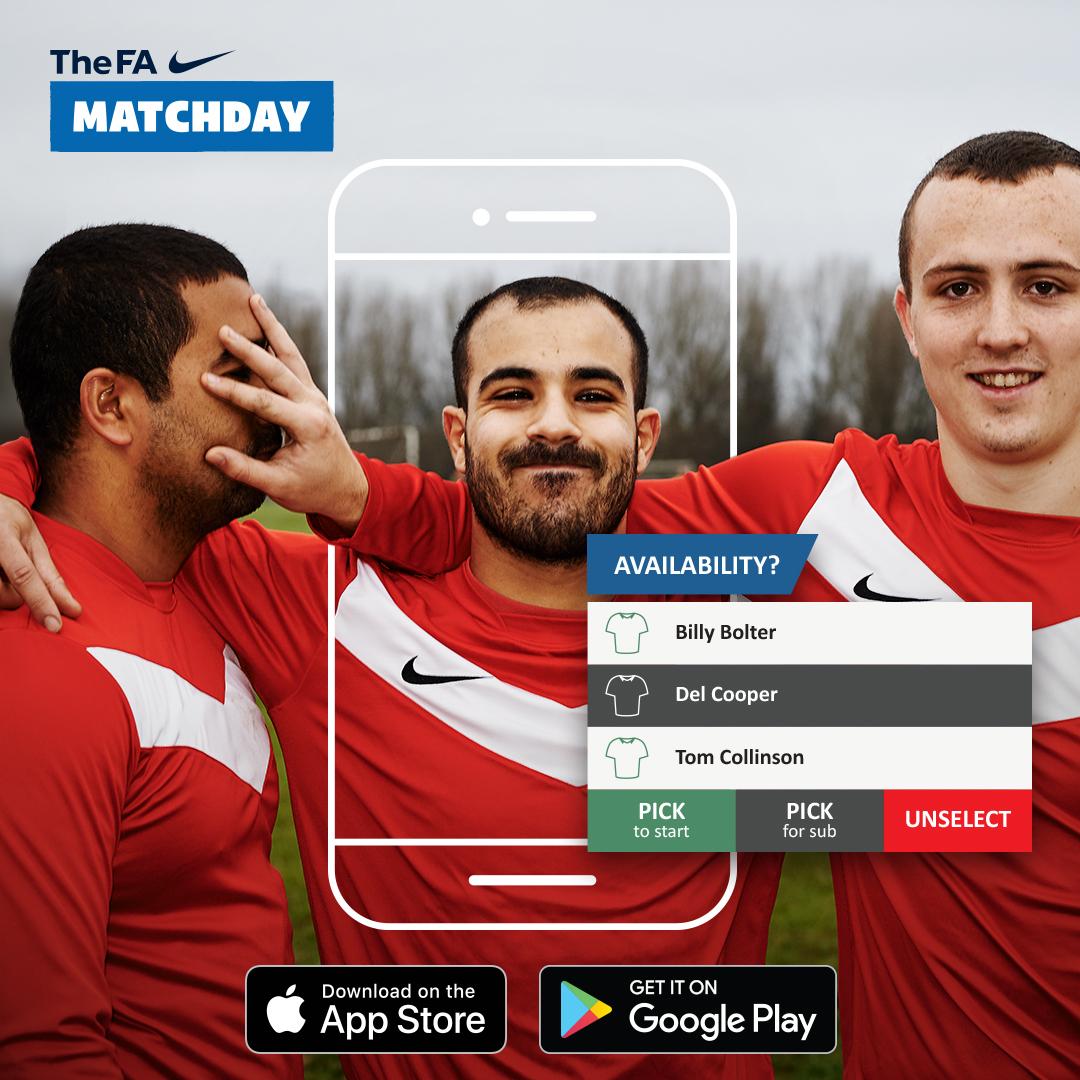 Matchday App - Hampshire FA
