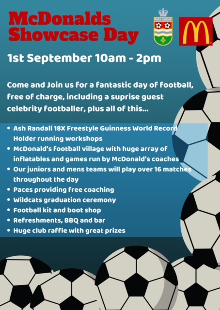 Ross Juniors host McDonalds Football Day