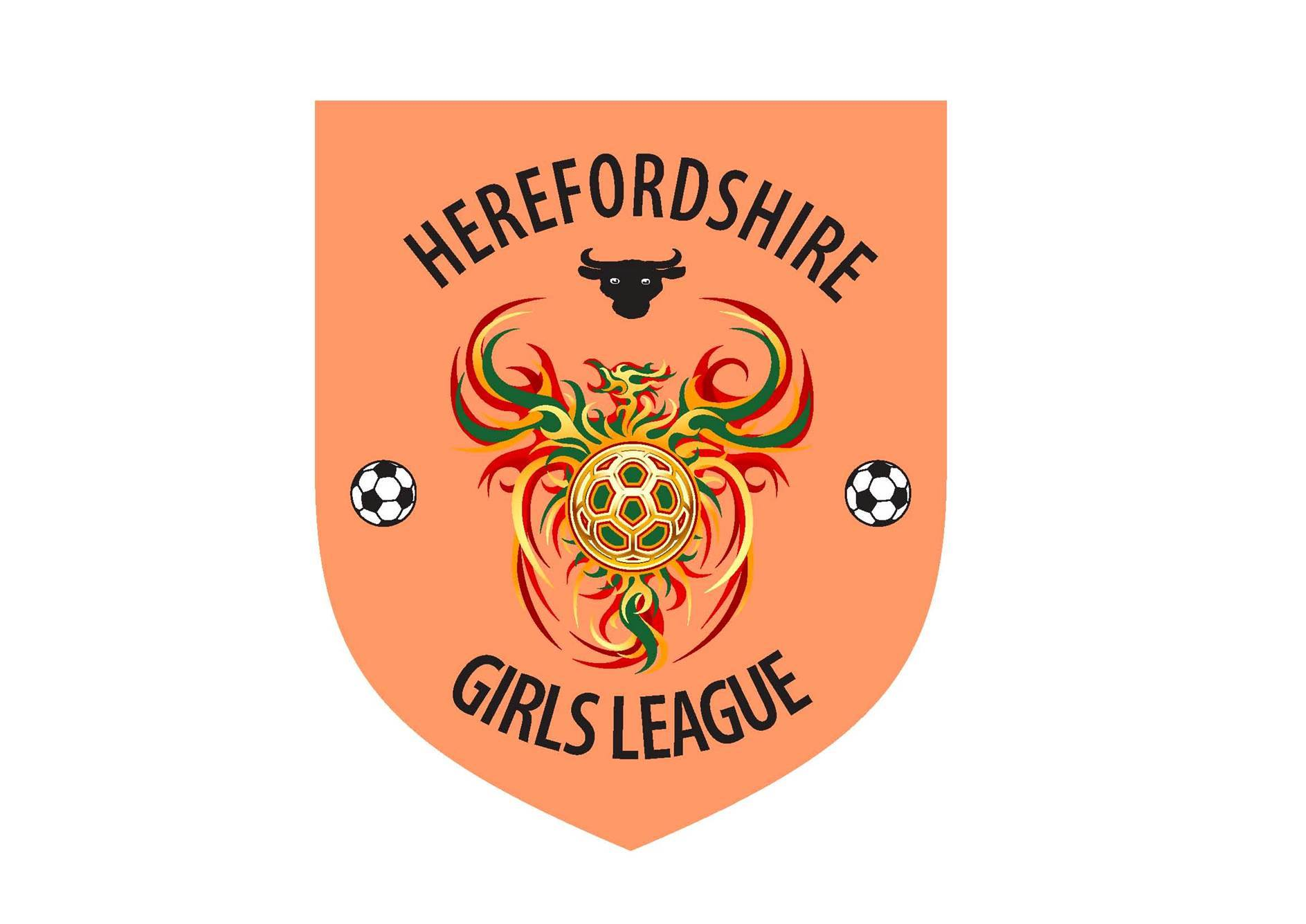 Herefordshire Girls Football League Logo
