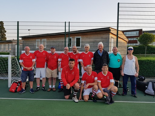 Scrumpy Boys Walking Football Team