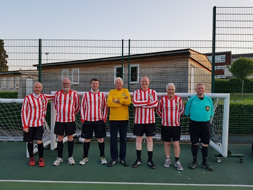 Ross Jrs Walking Football Team