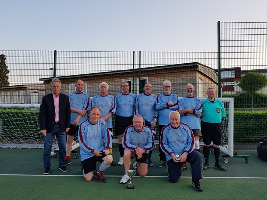 Leominster Walking Football team HFA League Champions