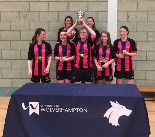Bartestree Girls win Regional Futsal Finals