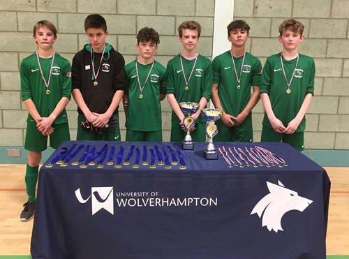 Fownhop Boys Runners up  Regional Futsal Finals