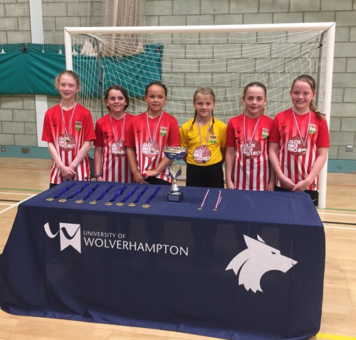 Ross JRs girls  Regional Futsal Finals