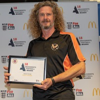 Scott Myers Herefordshire Coach of the Year 2018