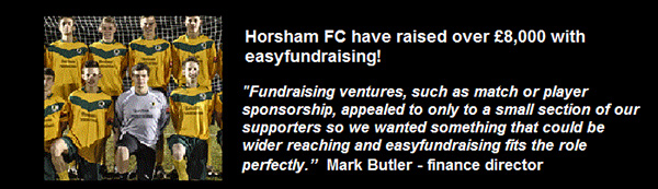 Easyfundraising Testimonal Football Club