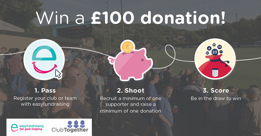 Win a £100 donation with easyfundraising this summer