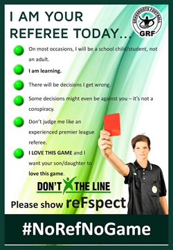 ReFspect Campaign - No Ref No Game
