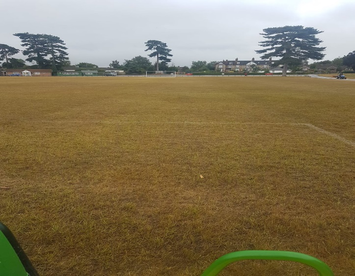 K Sports Pitch Drought