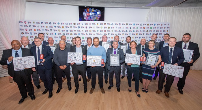 Kent FA Wins at 2019 County FA Recognition Awards!