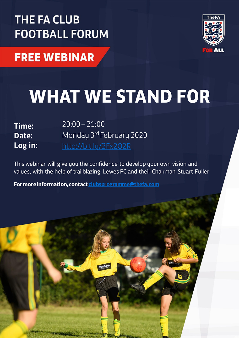 What We Stand For Webinar