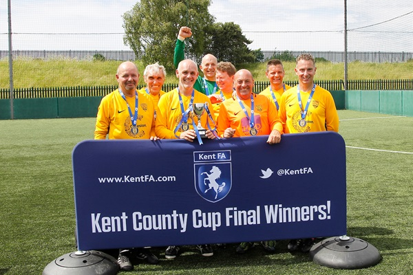 Walking Football Cup Over 50s Winners Maidstone