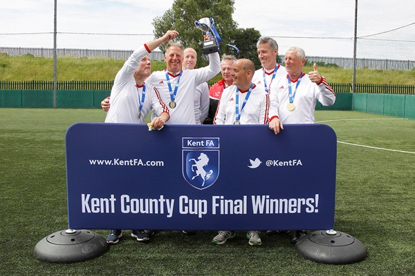 Walking Football Cup Over 60s Winners Bexley