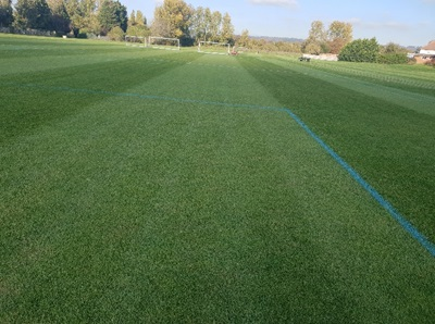 K Sports Pitches Prepared