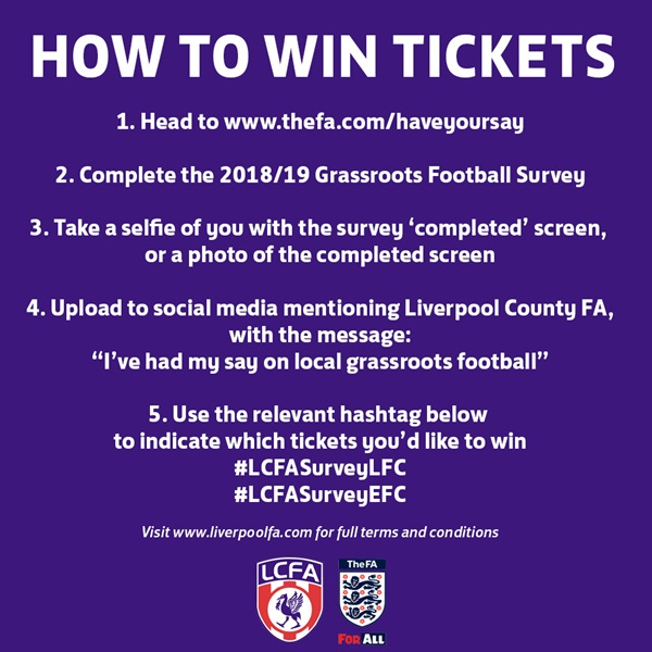 Survey Ticket Competition