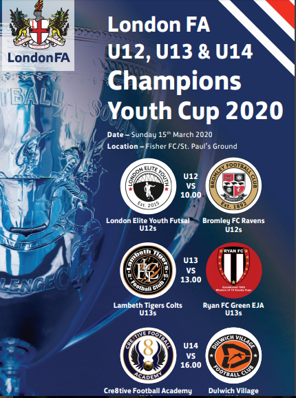 County Youth Cup Finals 2020