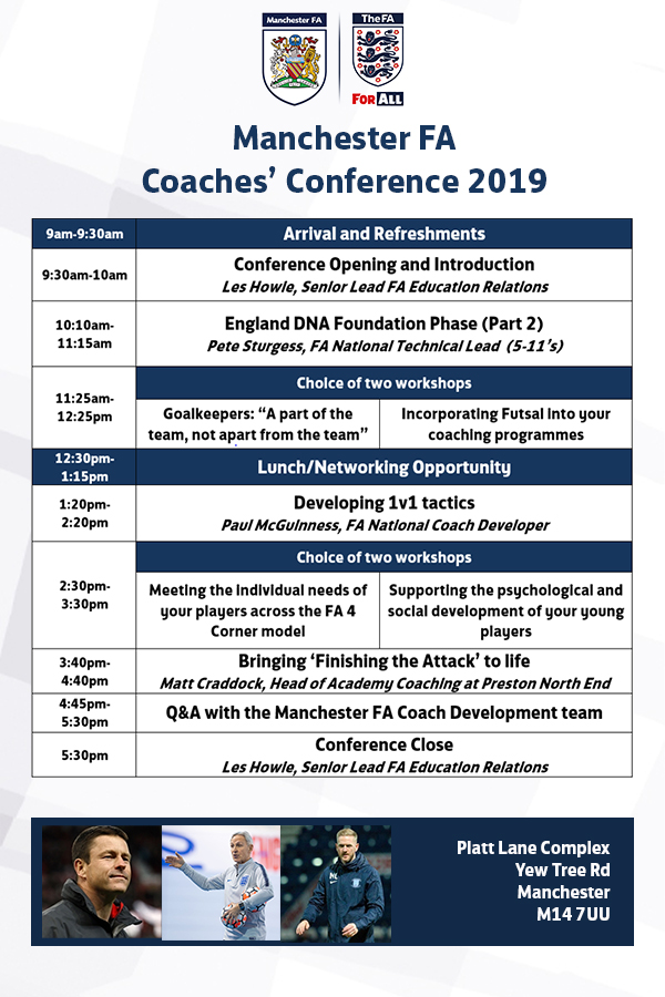 Coaches Conference Line-up