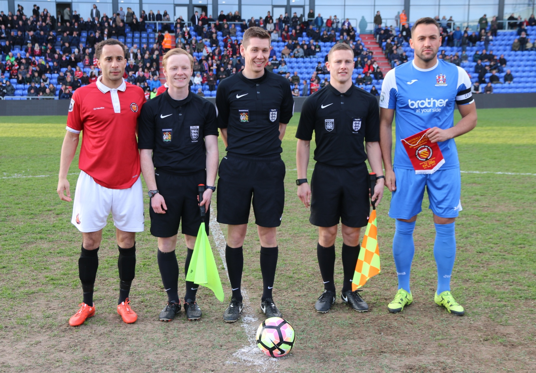 Refereeing In Greater Manchester Manchester Fa