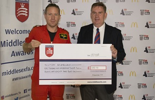 Donation to Air Ambulance