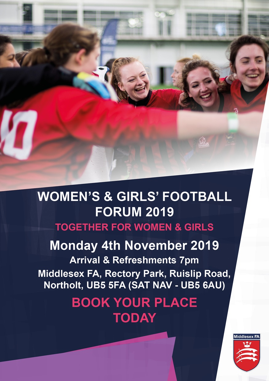 Women's and Girls' Football Forum Invite