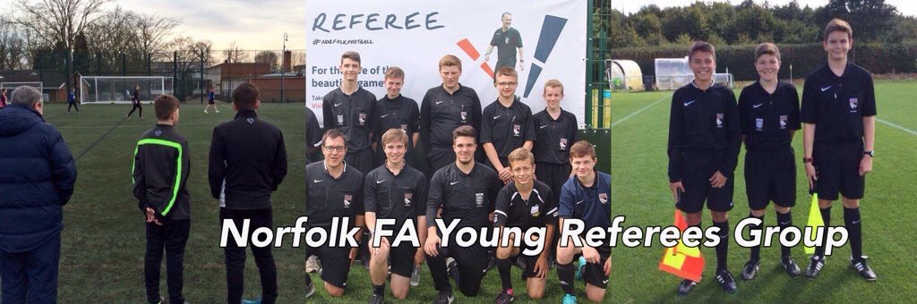 Norfolk FA Young Referees Group