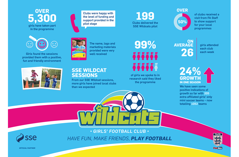 Infograph of statistics for SSE Wildcats