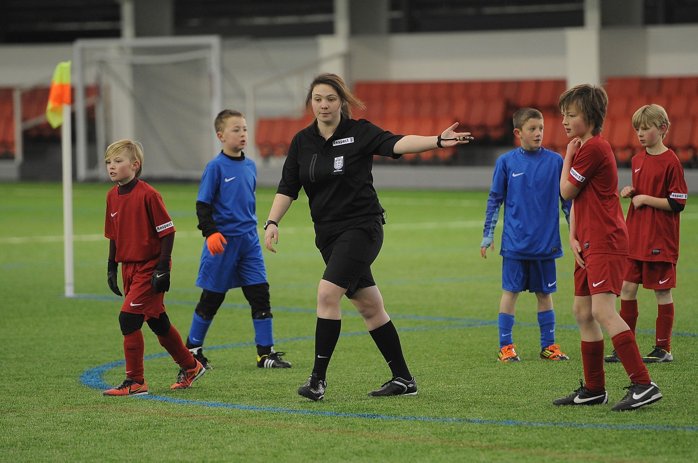 The Fa Mini Socccer Referee Course Nottinghamshire Fa