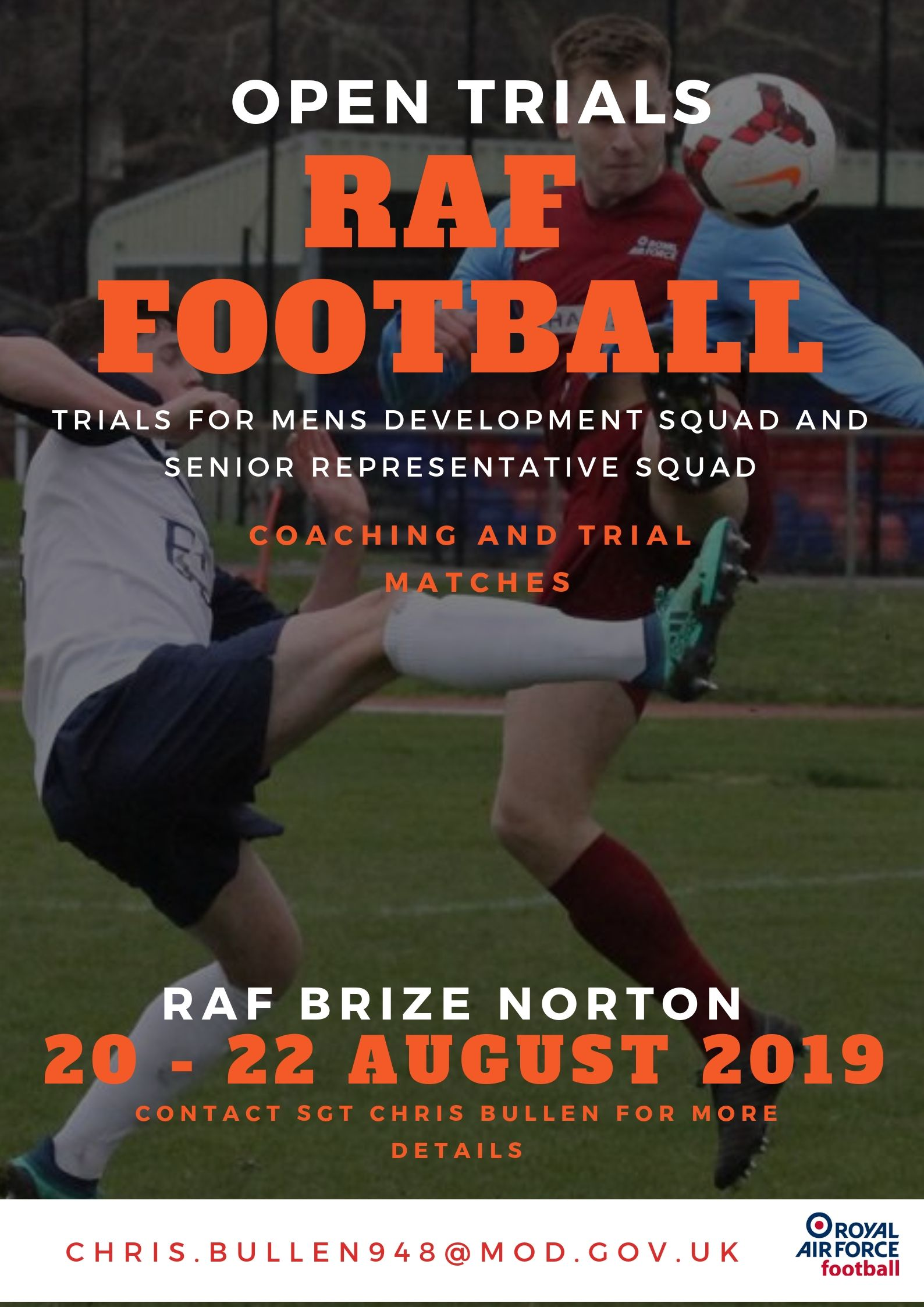RAF Mens Team Trials