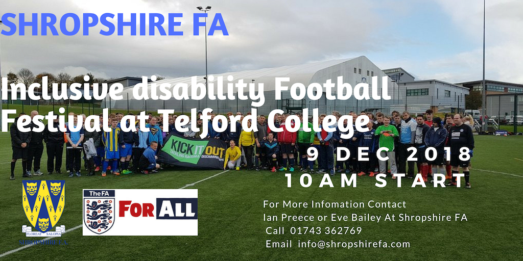 SFA Disability Football Festival