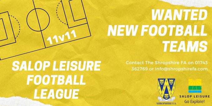Salop Leisure Teams Wanted