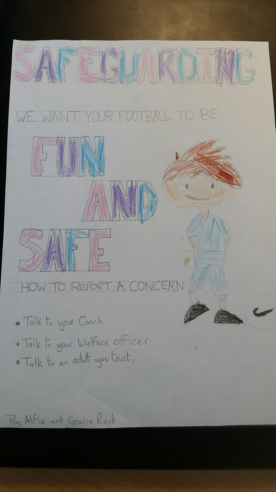 Secondary Safeguarding Poster Comp Winner